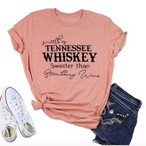 Smooth As Tennessee Whiskey Country Graphic Tee